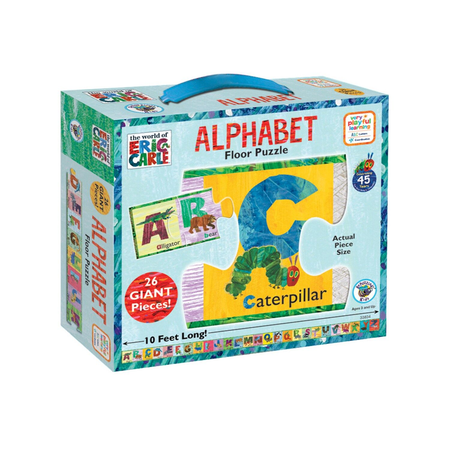 The World Of Eric Carle 26 Pc Alphabet Floor Puzzle By