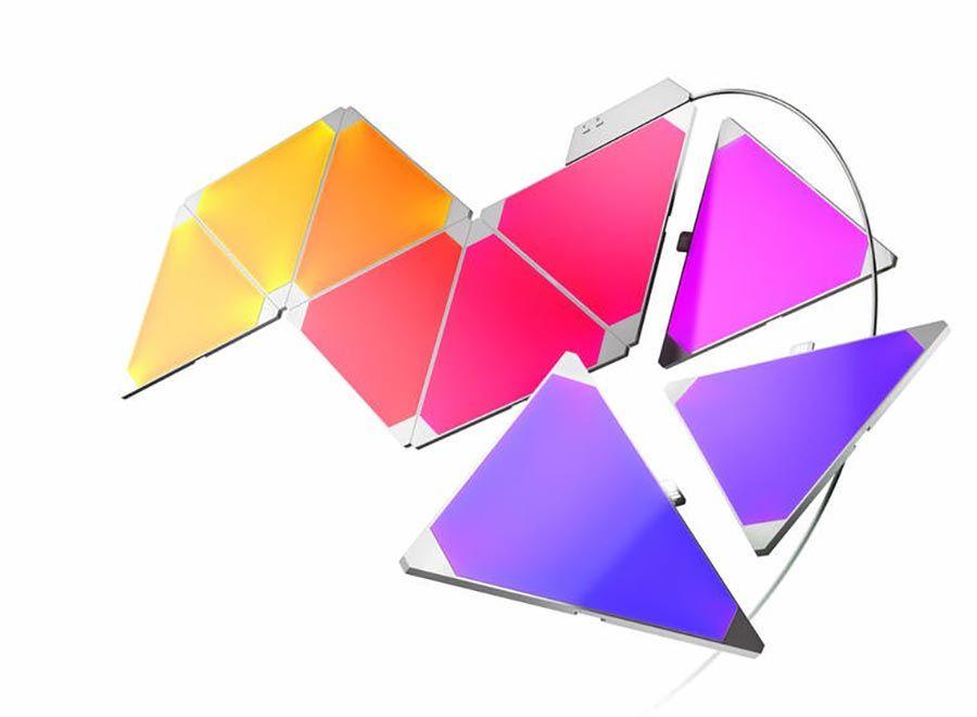 Steuerbare Licht Dreiecke Led Designlampe Nanoleaf Aurora Licht Ios Apple App