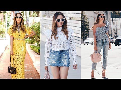 f63586d69 TENDENCIAS 2018   ROPA DE MODA 2018 MUJER JUVENIL - PRIMAVERA VERANO  fashionistamoda - YouTube