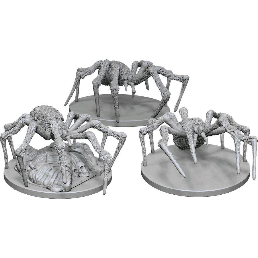 D&D Unpainted Nolzur's Marvelous Miniatures Spiders