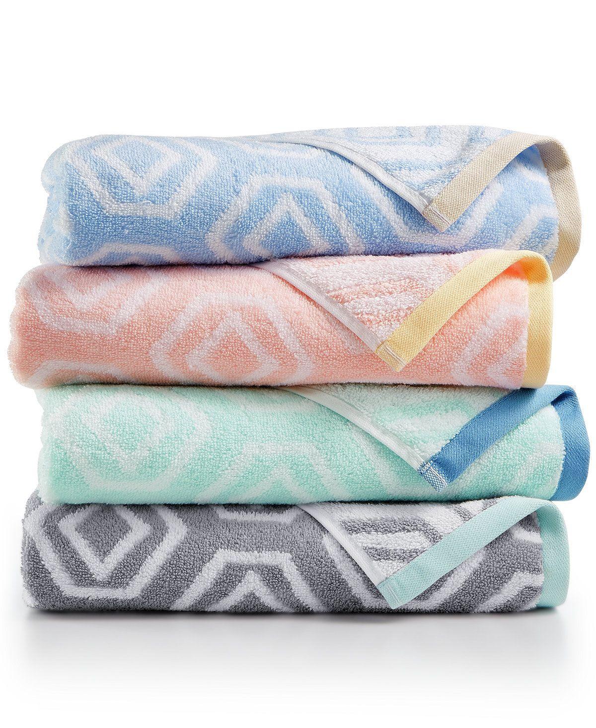 Martha Stewart Collection Gemstone Bath Towel Created For Macy S