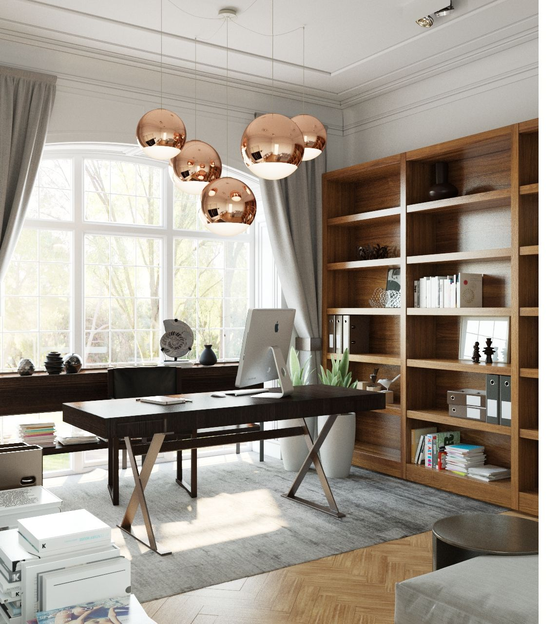Home Office Design Examples: 3 Examples Of Modern Simplicity