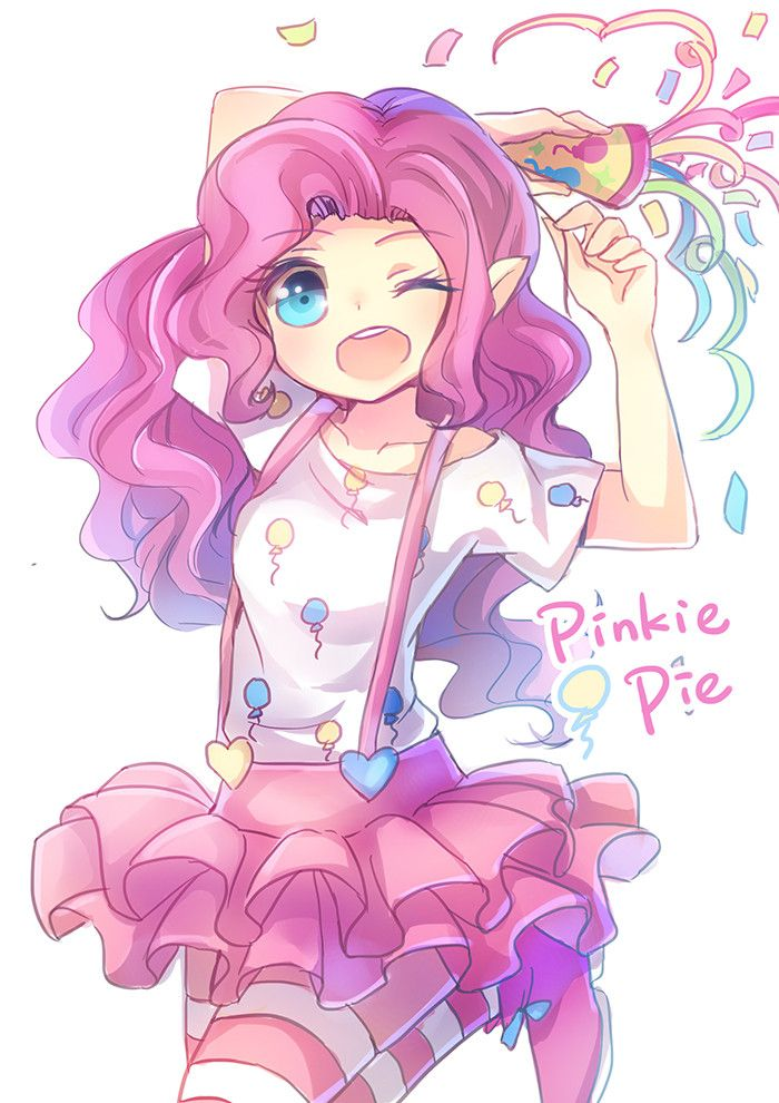My little pony pinkie pie by emia pixiv 2888863 - My little pony en dessin anime ...