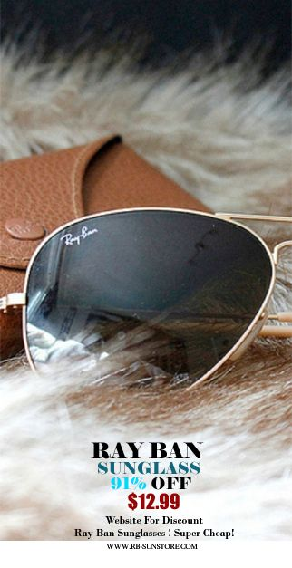 Website For Discount Ray Ban Sunglass! Super Cheap! All Sale 91% off now.$12.99