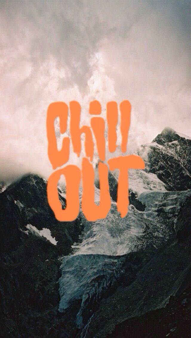 Iphone wallpaper - chill out | Wallpaper | Chill wallpaper, Iphone wallpaper, Apple wallpaper