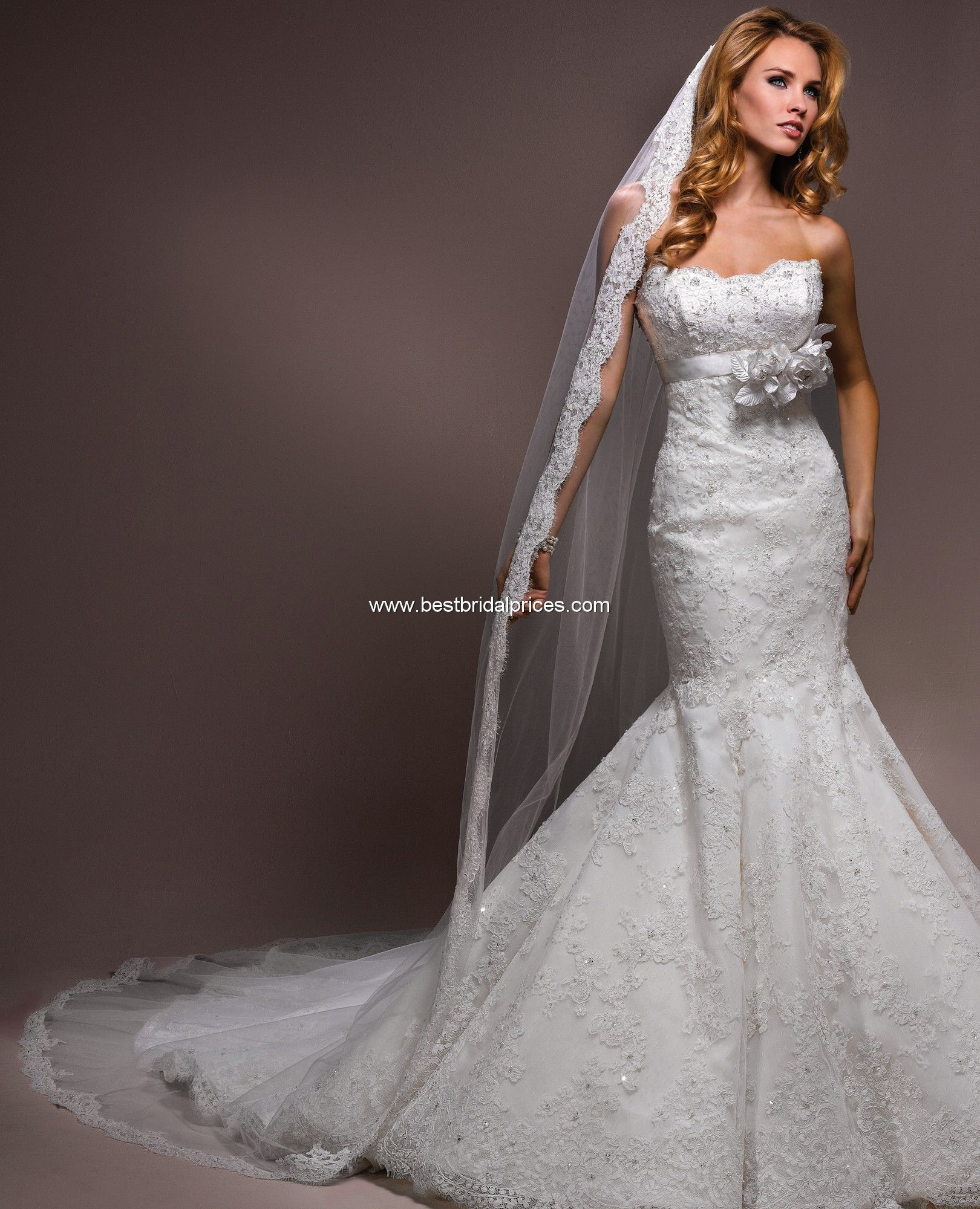 Maggie cathedral length veil maggie sottero veils style tabitha