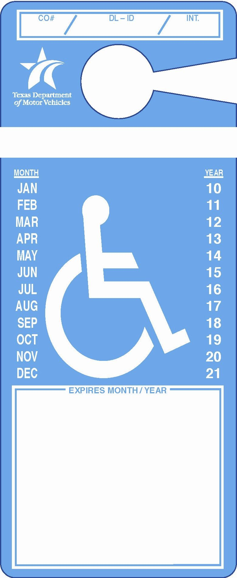 How To Apply For Disabled Parking Tx  Also Available For