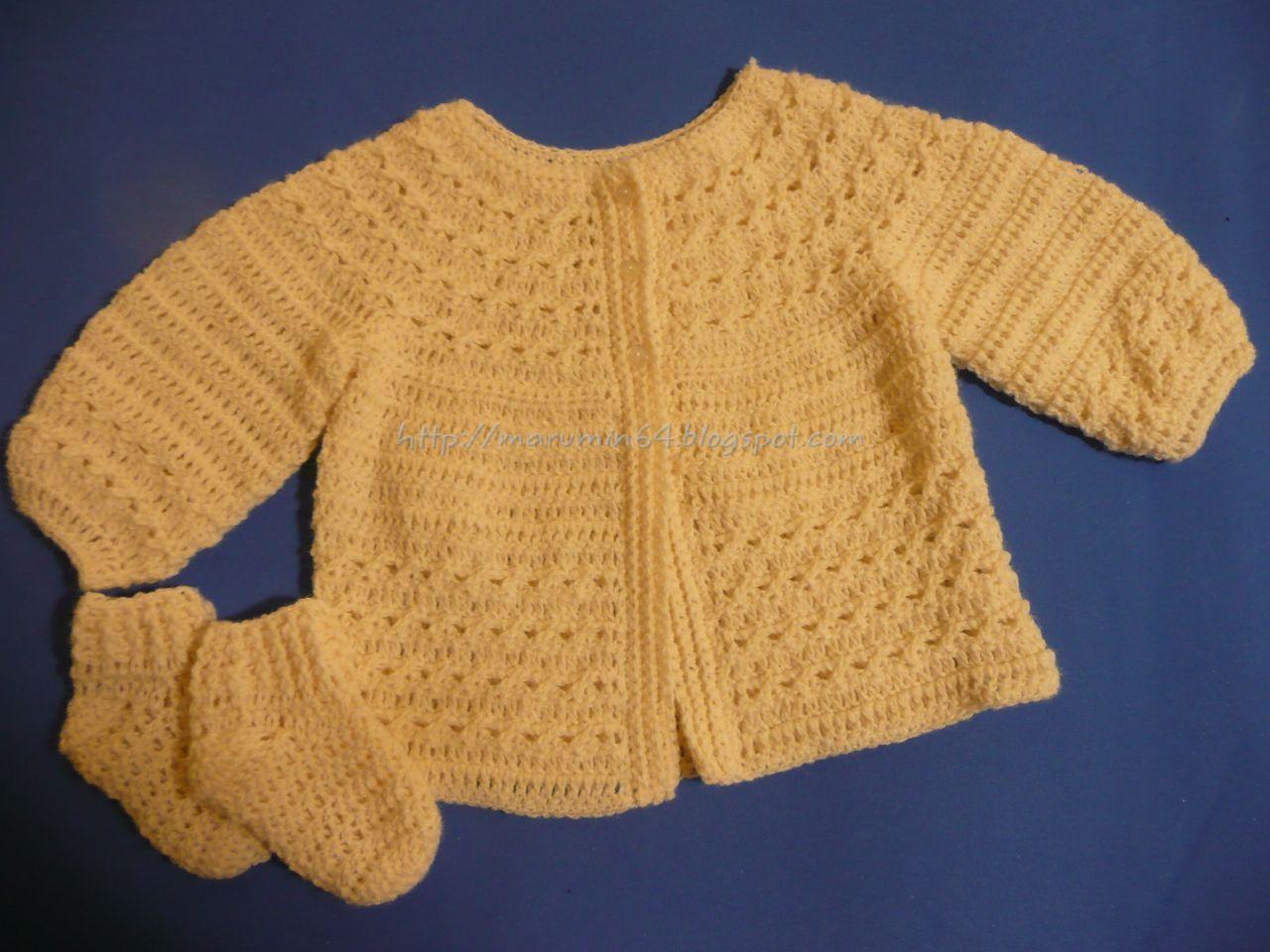 Marumin Crochet | labores para bebes | Pinterest | Crochet patrones ...