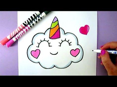 How To Draw Rainbow Cute Panda Unicorn Easy Como Dibujar Una Panda