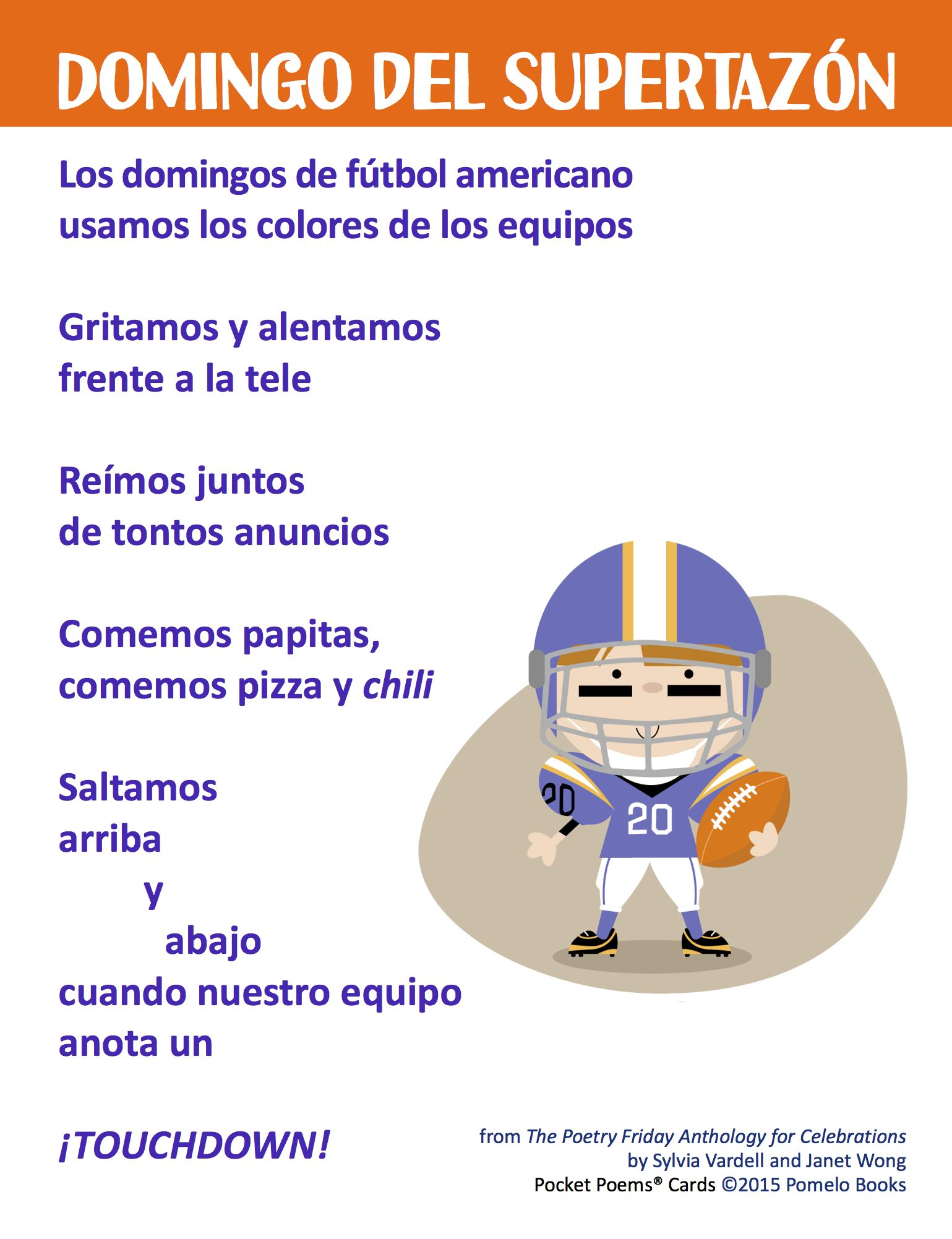 Pin On Spanish Poems For Kids