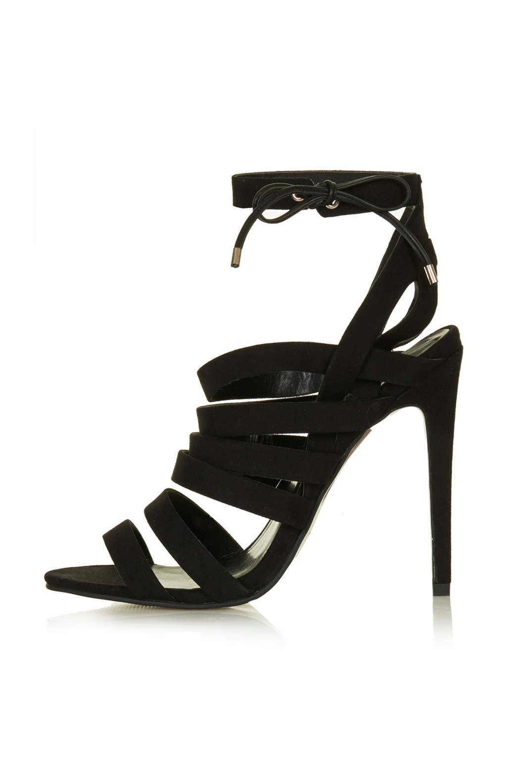 Rosie Strappy Sandals Heels Shoes Sandales A Bride Chaussures Talons Sandales A Lanieres