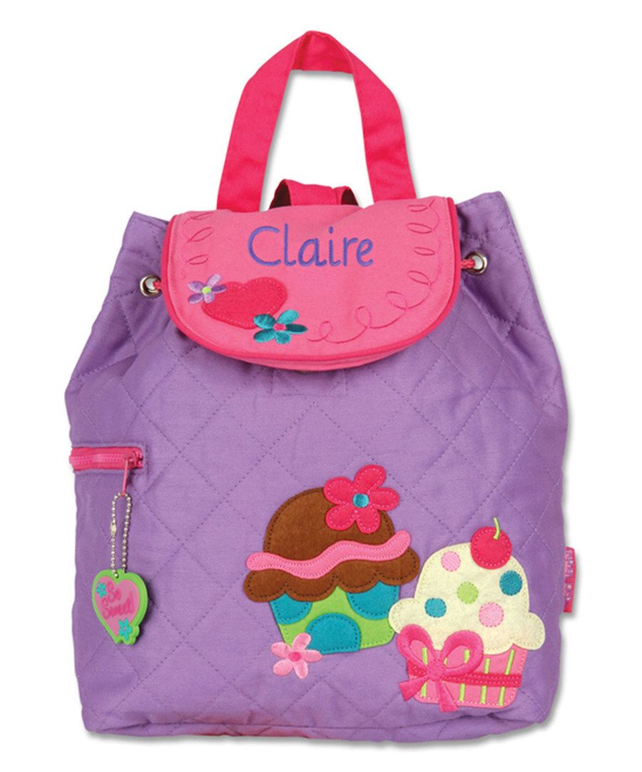 2fbaa5a28213 Look at this Cupcake Personalized Quilted Backpack on #zulily today ...