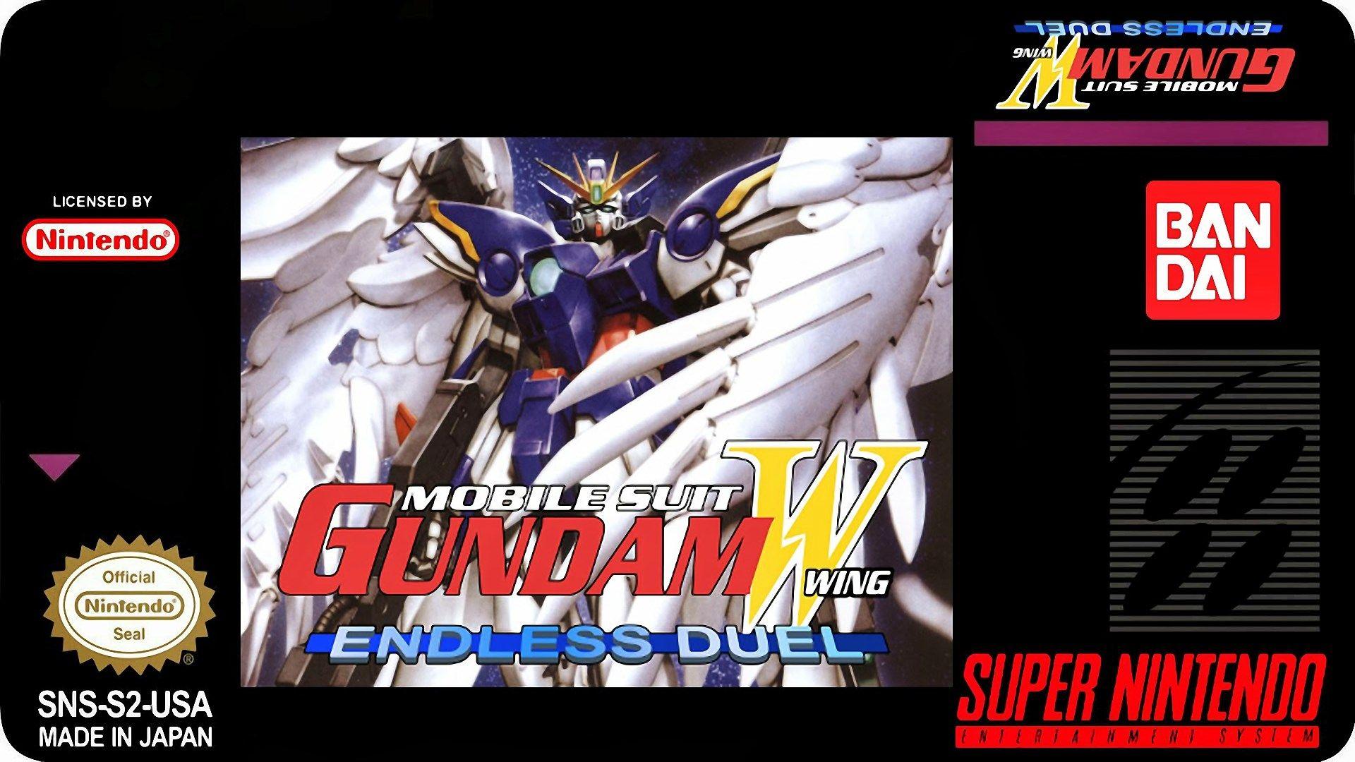 gundam wing endless duel High Definition Background