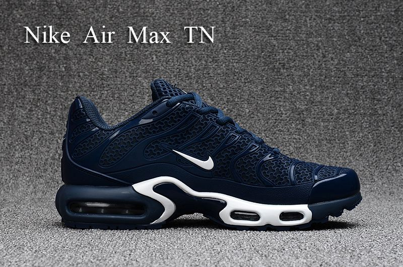 new product 4c7d1 f0bc1 2018 New Arrival Men Nike Air Max Plus TN Ultra Dark Blue White