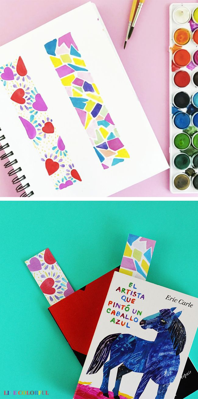 Imprimible Gratis: Separadores de Libros Coloridos para Niños ...