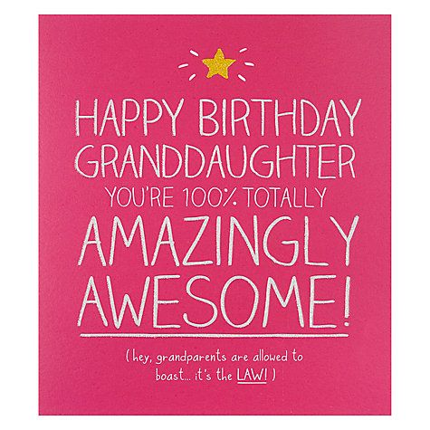 Buy Happy Jackson 100 Amazing Granddaughter Birthday Card Online – Online Birthday Cards with Photo