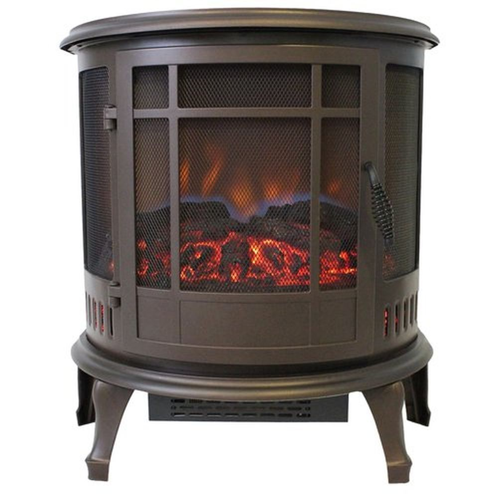 large 1000 sq. ft. vent free electric stove portable fireplace