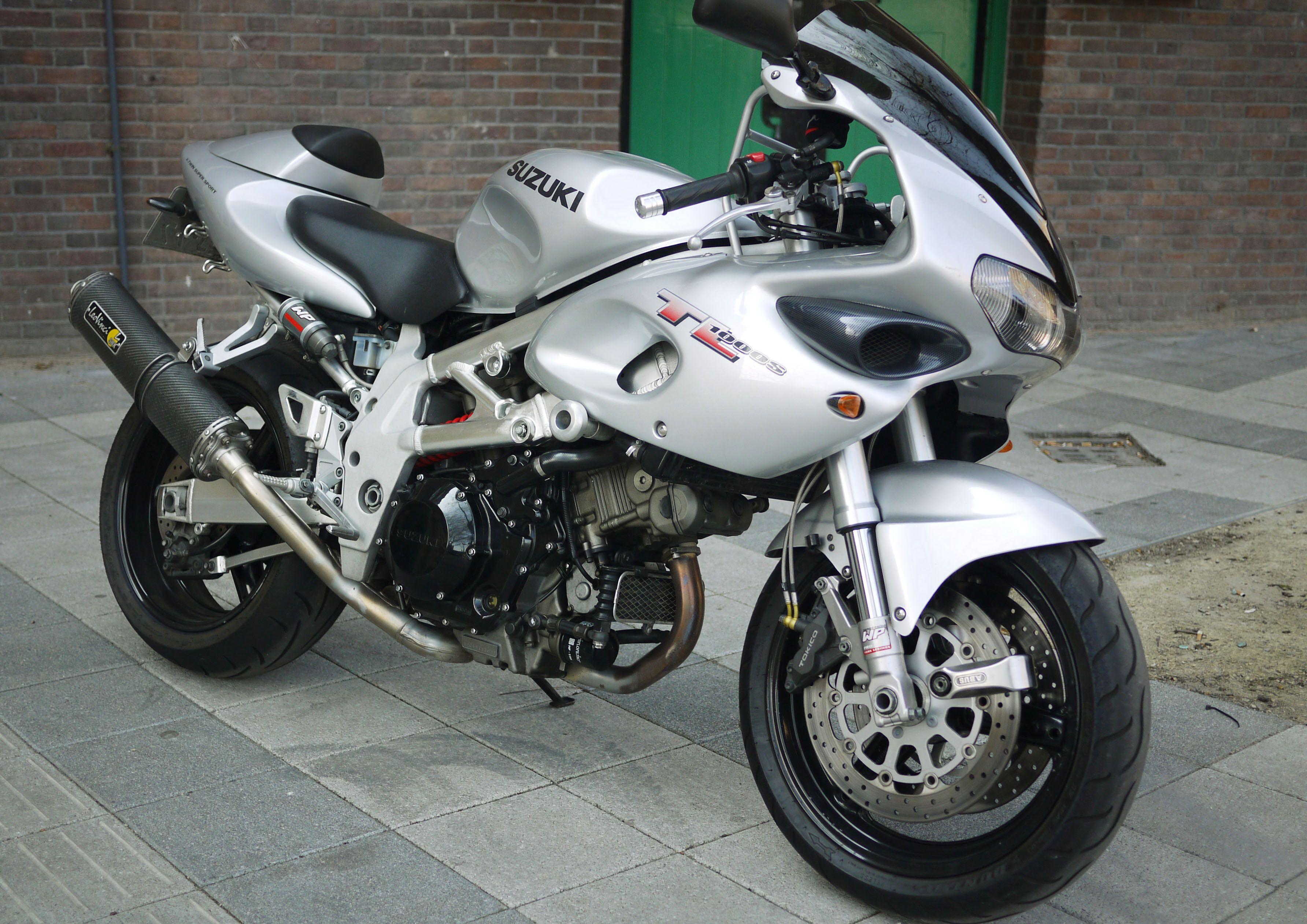 my Suzuki TL 1000S 2001. no9.
