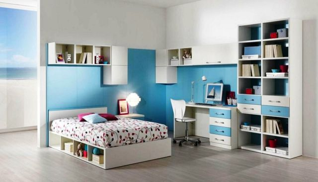 Ideen Zum Jugendzimmer Streichen Für Mädchen Und Jungs #ideen #jugendzimmer  #jungs #madchen