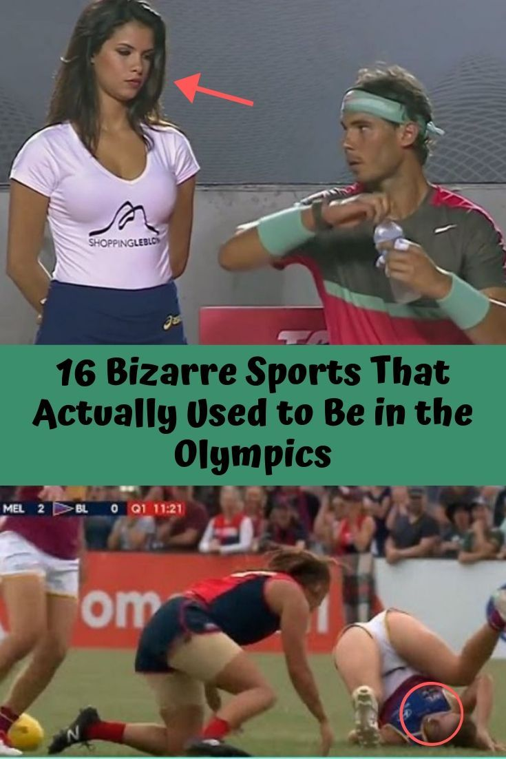 16 Bizarre Sports That Actually Used to Be in the Olympics