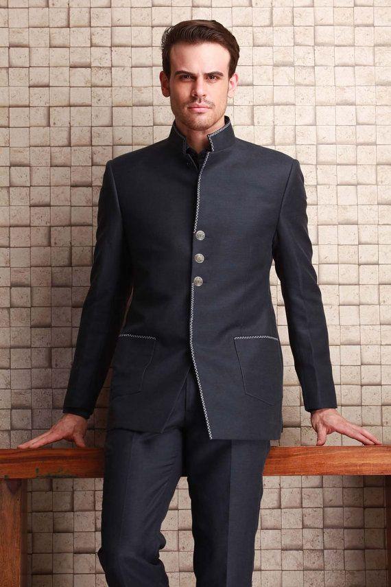 New Men Customized Formal Blazer Trouser by Prideofrajasthan
