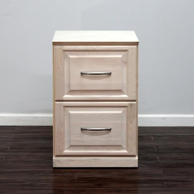 Gothic Cabinet Craft   Raised Panel File Cabinet With 2 Drawers, $349.00  (http: