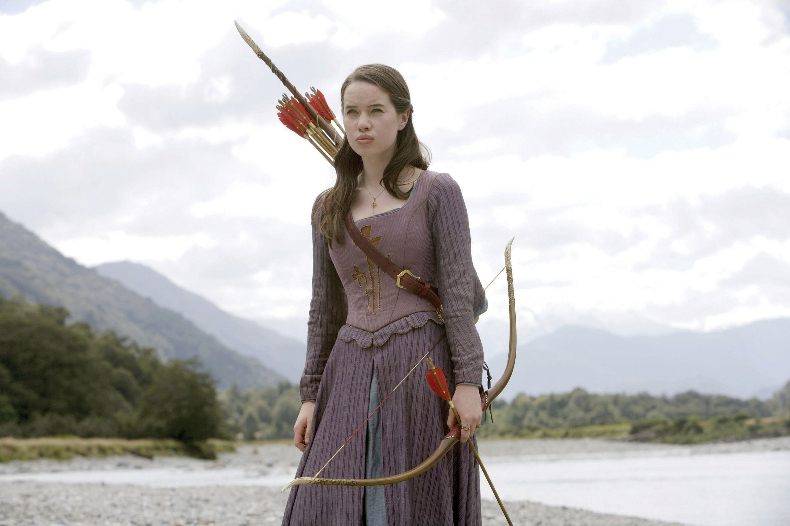 Narnia Costumes Susan | Anna Popplewell Susan | Fantasy Costumes ...
