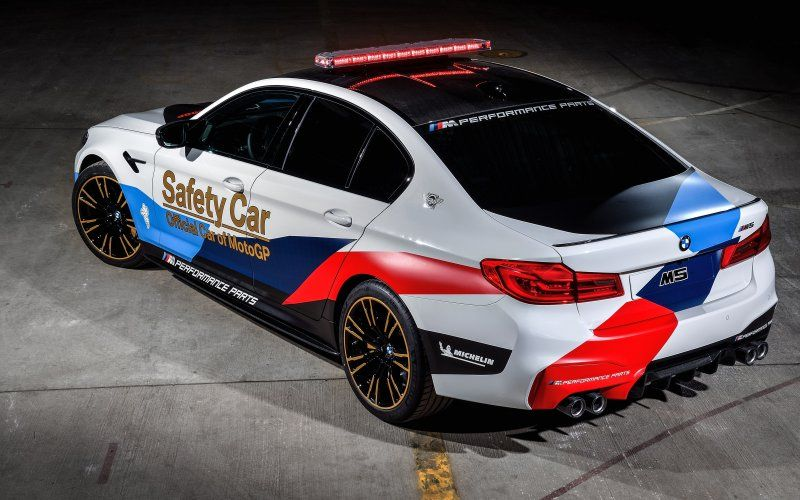 Wallpaper Bmw M5 Motogp Safety Car Bmw Luxurious 2018 Car