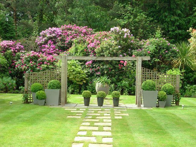 Gartengestaltung – 107 Bilder, schöne Garten Ideen und Stile ...