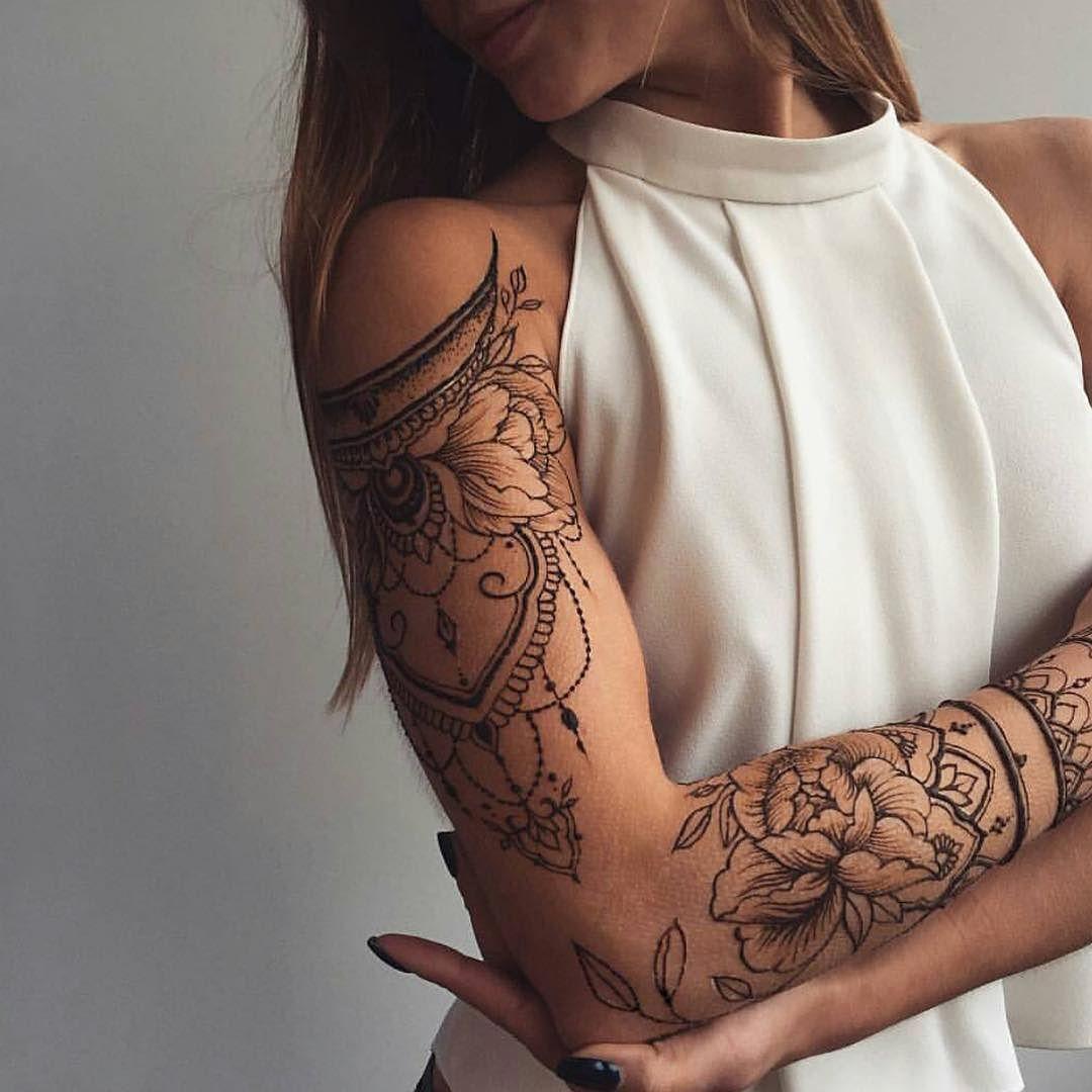 Resultats De Recherche D Images Pour Tatouage Bras Mandala