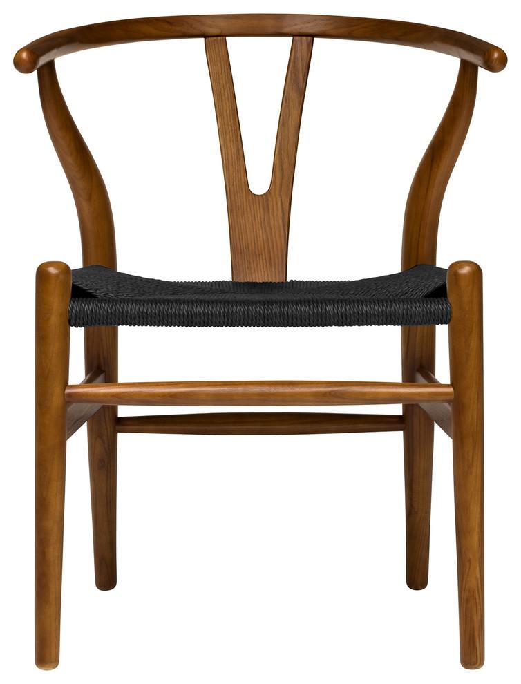 Wishbone Chair, Midcentury Modern, CommercialGrade