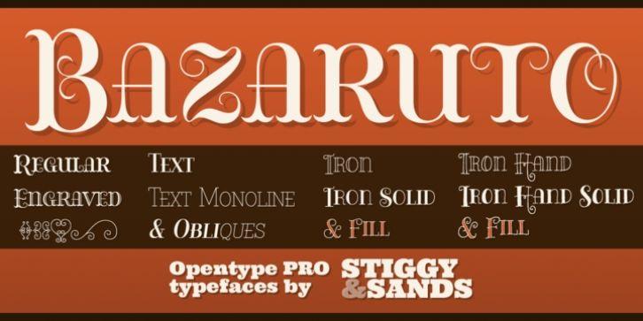 Bazaruto font download