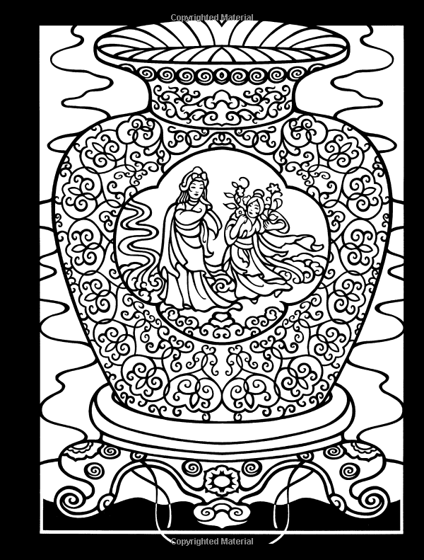 Welcome To Dover Publications Chinese Kites Stained Glass Coloring Book Marty Noble Amazon Com Mandala Coloring Pages Dover Coloring Pages Coloring Books