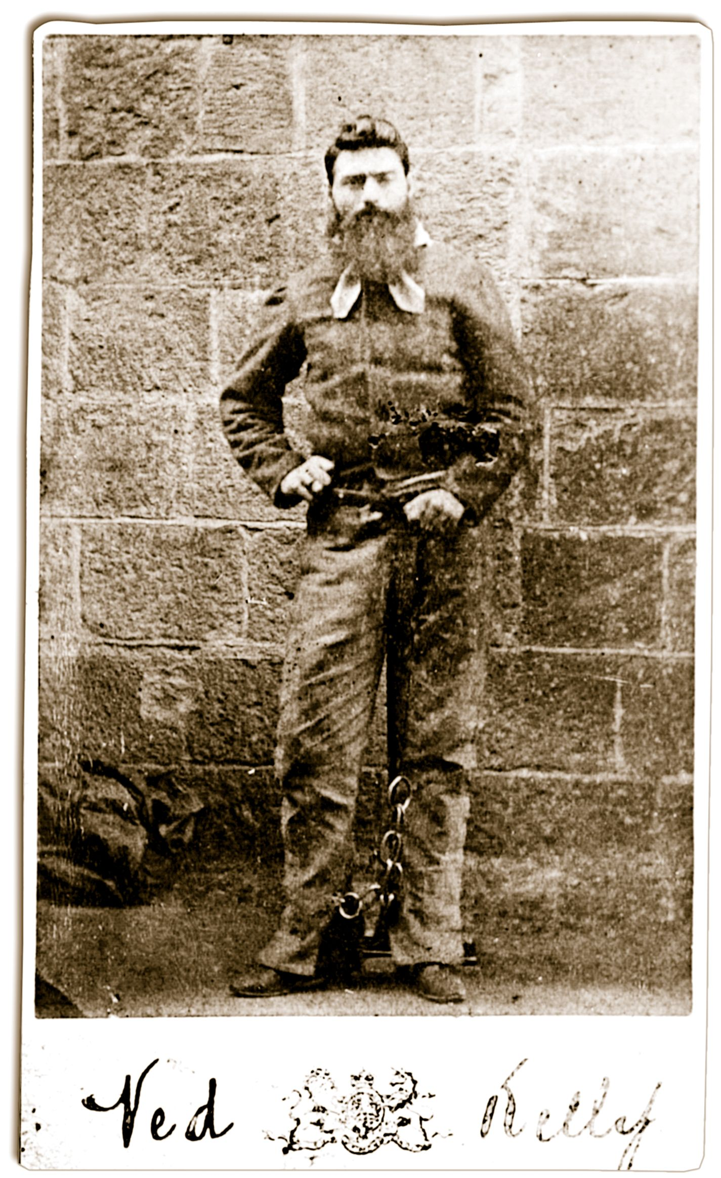 The Last Photos Of Ned Kelly Were Taken By The Official Melbourne  The Last Photos Of Ned Kelly Were Taken By The Official Melbourne Gaol  Photographer Charles Nettleton On November   The Day Before Neds  Execution How To Write A Proposal Essay also Essay About Health  Bullying Essay Thesis