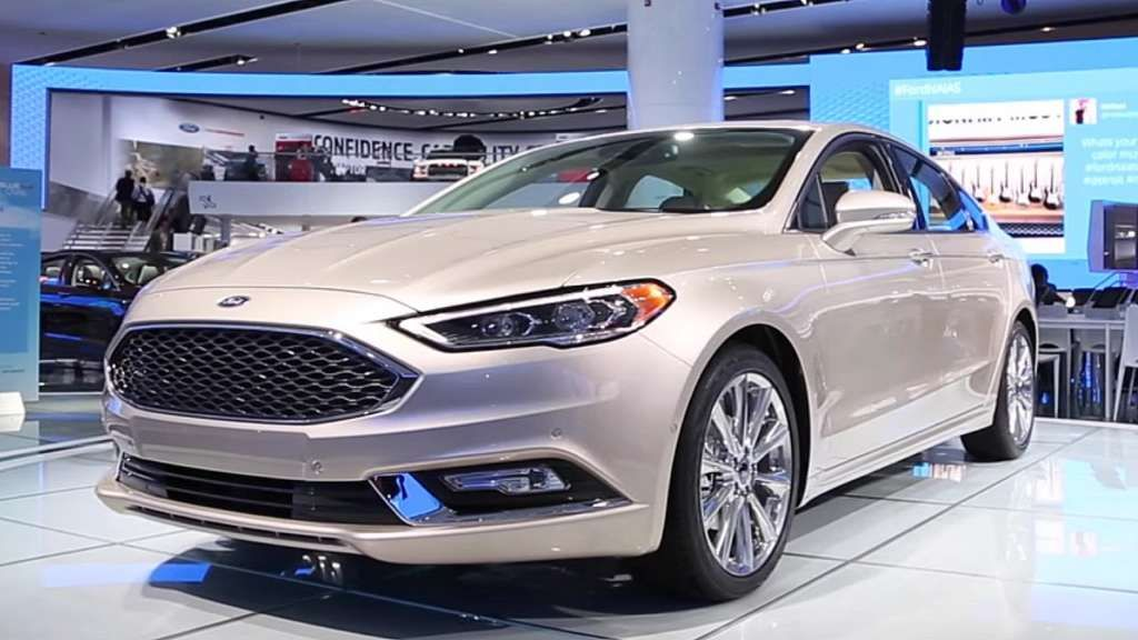 2017 Ford Fusion Release Date, Review, Price, Spy Shots