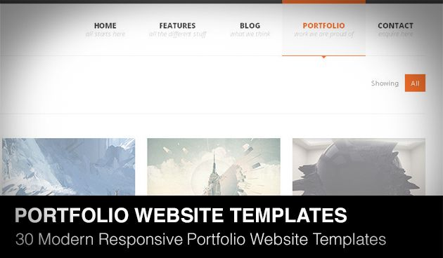 Today we will show 30 clean and modern responsive portfolio website templates of 2013 with you. All templates coded with Bootstrap, HTML5 and CSS3. So, I've written before about Free Responsive HTML5 Templates (free version), if you are looking free...