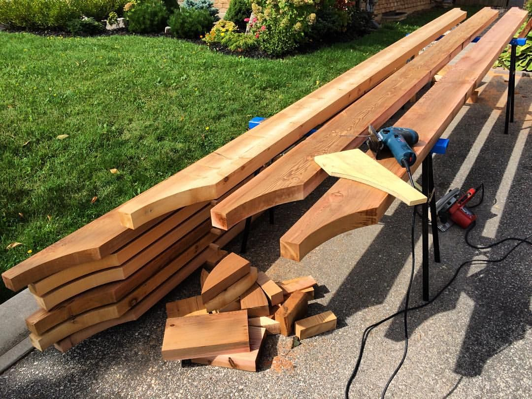 18 rafter tail profiles cut 2 more to go can 39 t wait to. Black Bedroom Furniture Sets. Home Design Ideas