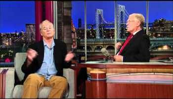 Bill Murray Introduces His Hologram on David Letterman