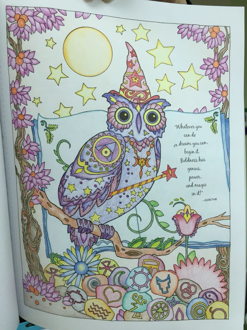 Pin On Colouring For Relaxation Owls
