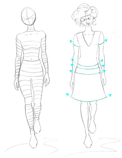 How to draw the clothes | s_Designing 101 | Pinterest | Figure ...