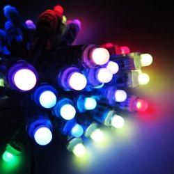 50pc 12V WS2811 RGB LED Pixel 12mm IP68