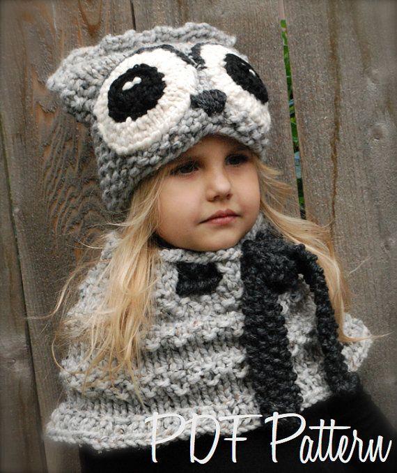 8125c690edf Knitting PATTERNThe Oxford Owl Set Toddler Child by Thevelvetacorn. Knitting  PATTERNThe Oxford Owl Set Toddler Child by Thevelvetacorn Crochet ...