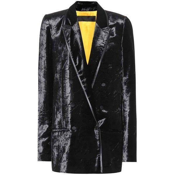 Petite veste velours noir