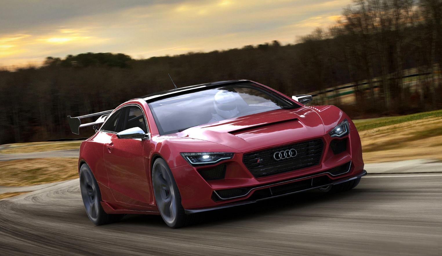 The Audi R4, Concept Car Designed By Rene Garcia! | Cars 5 ...