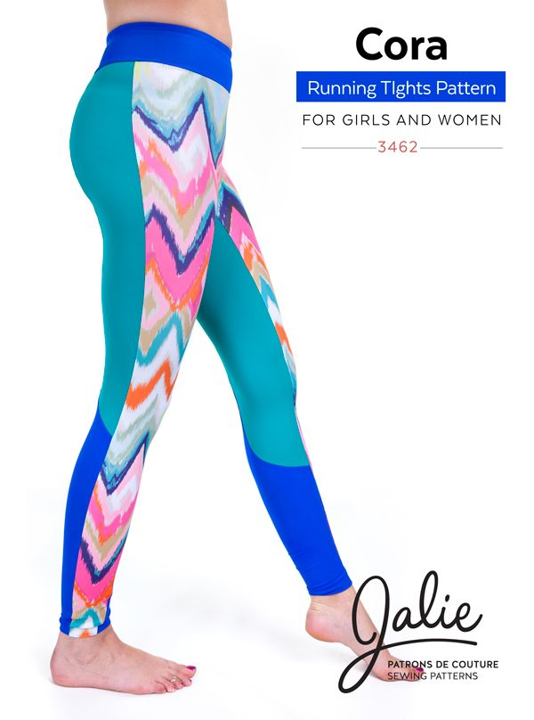 Coming soon - The Cora Running Tights by Jalie | Jalie | Pinterest ...