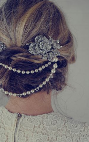 8226608f1cafe Jules-Bridal-Jewellery-double-pearl-bridal-hair-accessories-ELLE-wedding -blog