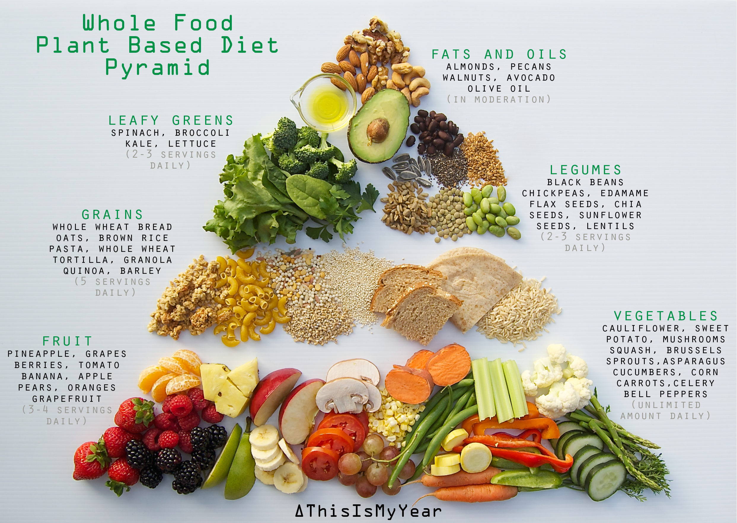 Plant Based Diet Food Pyramid thisismyear Plant diet