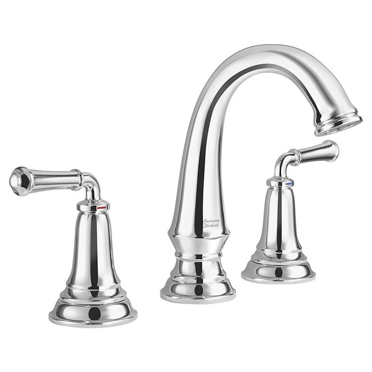 American Standard 7052814 002 Delancey Two Handle Widespread Bathroom Faucet Without Drain In 2019 Bathroom Faucets Widespread Bathroom Faucet Faucet