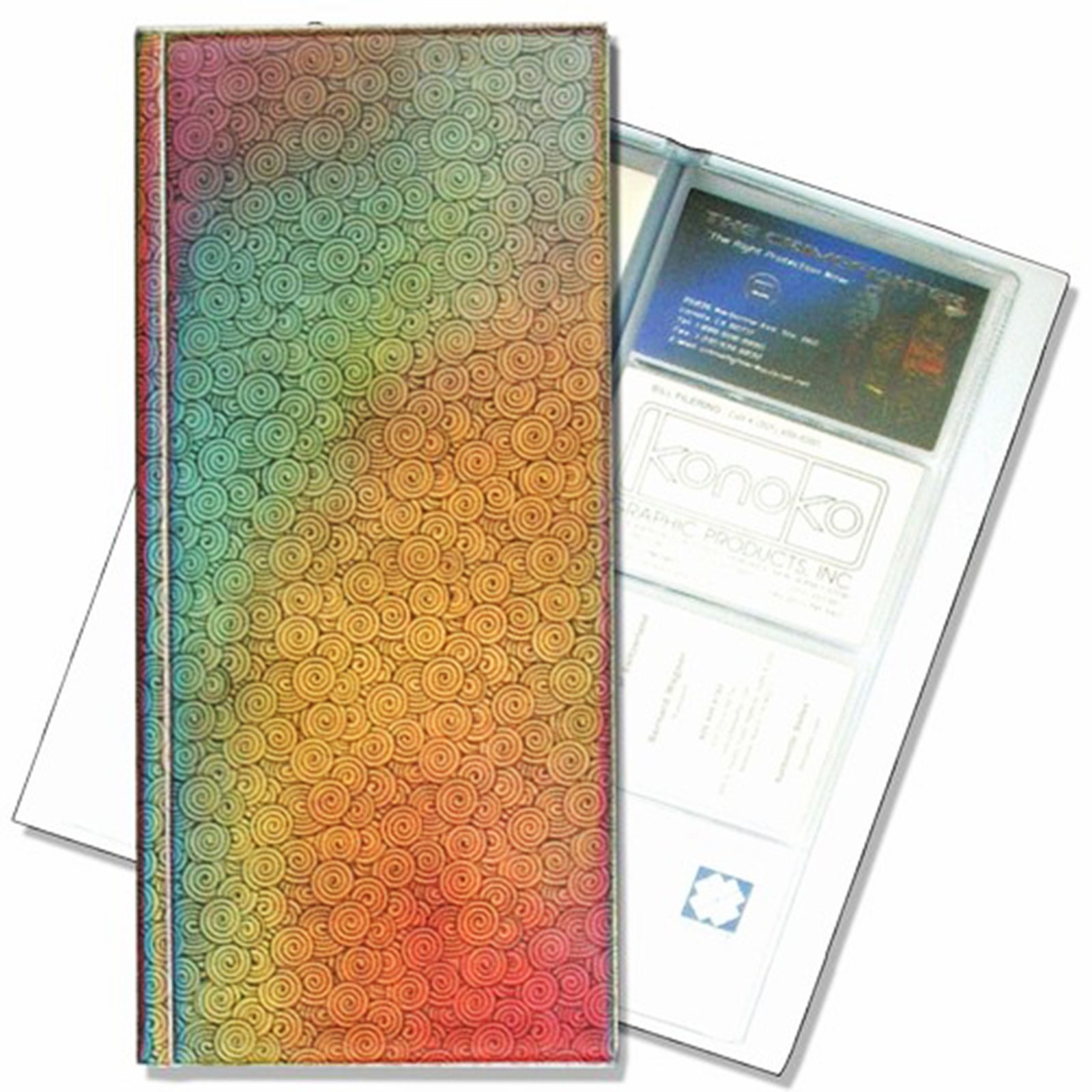 Lenticular Rainbow Color Changing Multicolor Business Card File #R ...
