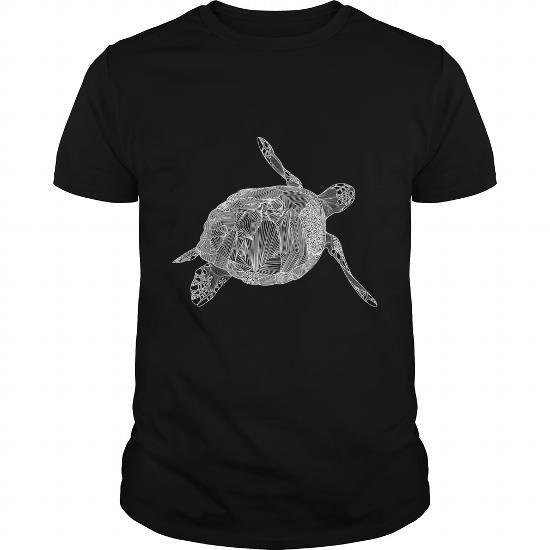 Cool Se Turtle (White) T shirts